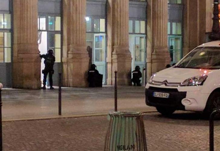 Evacuan la mayor estación de trenes en operativo antiterrorista — Francia