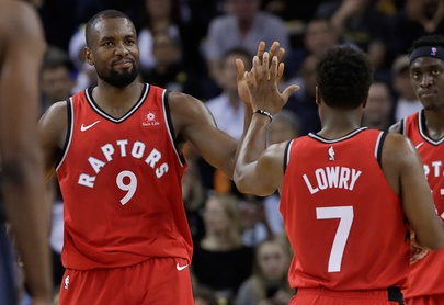 Raptors completan barrida aplastando a Warriors 113-93