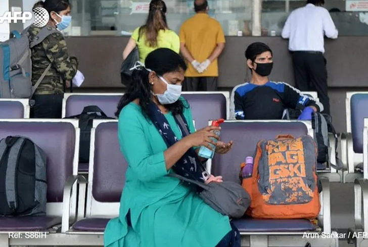 india, pandemia, coronavirus, aviacion, vuelo,