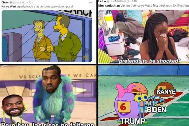 entretenimiento, rapero kanye west, candidato presidencial, memes, redes sociales,