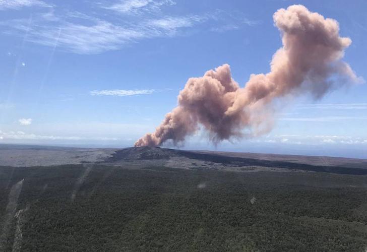 Las impresionantes fotos tras la erupción del volcán en Hawaii