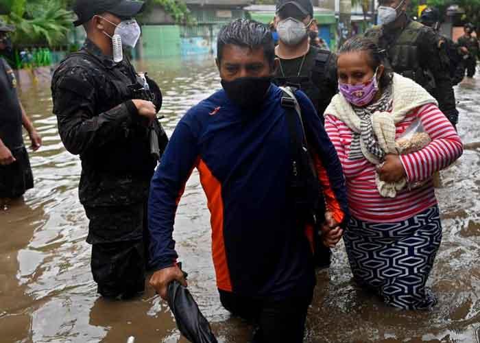 el salvador, afectaciones, muertos, inundaciones, tormenta tropical, amanda,