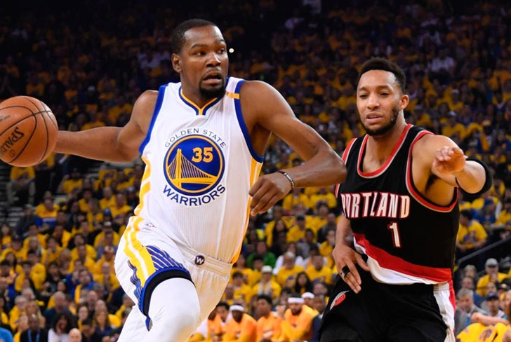 golden, state, warriors, conferencia, oeste, portland, trail, blazers, kevin, durant, stephen, curry,