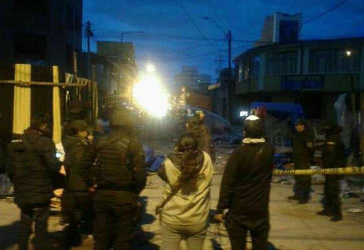 Oruro declara siete días de duelo por las víctimas de explosiones