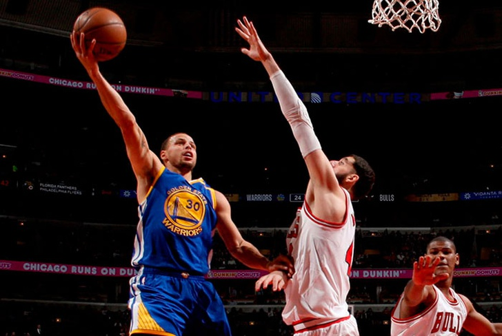 stephen, curry, klay, thompson, san antonio spurs, new, orleans, jimmy, butler,-Warriors caen ante Bulls en su primer partido sin Durant