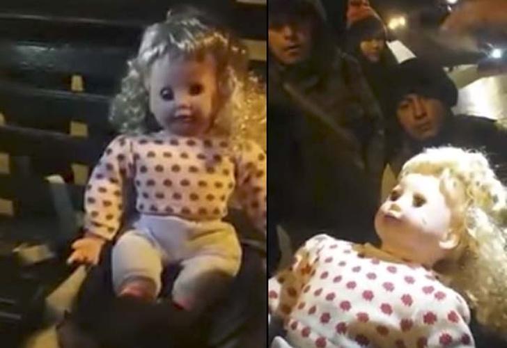 Supuesta muñeca poseída habla y voltea la cabeza ¡sin pilas! [VIDEOS — Cusco