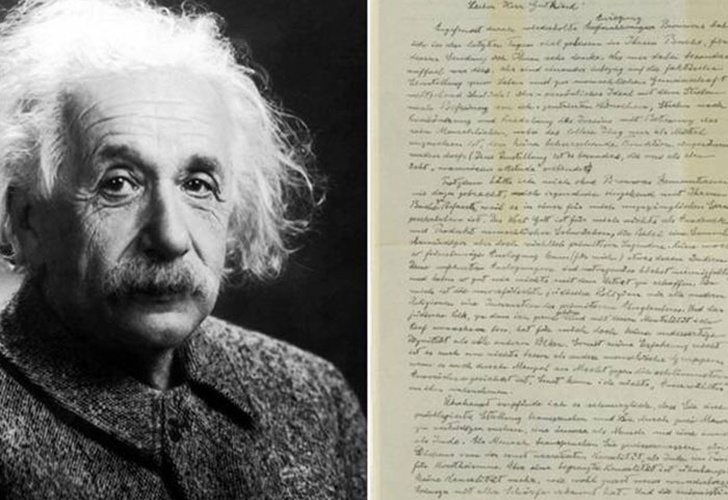 Disponible en subasta el manuscrito de Albert Einstein la