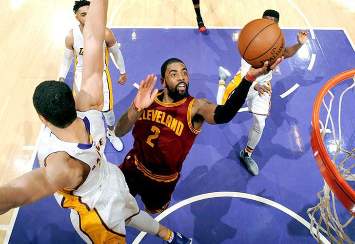 lakers, cavaliers, dàngelo, rusell, lebron, james, kevin, love, clippers, miami, heat, trail,-Irving impresiona con 46 y Cavs superan a Lakers