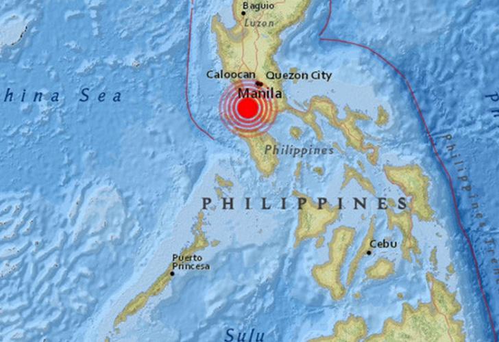 Terremoto de magnitud 6,2 sacudió Filipinas