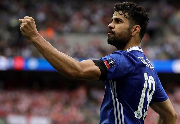 Diego Costa, 122 goles en el último lustro