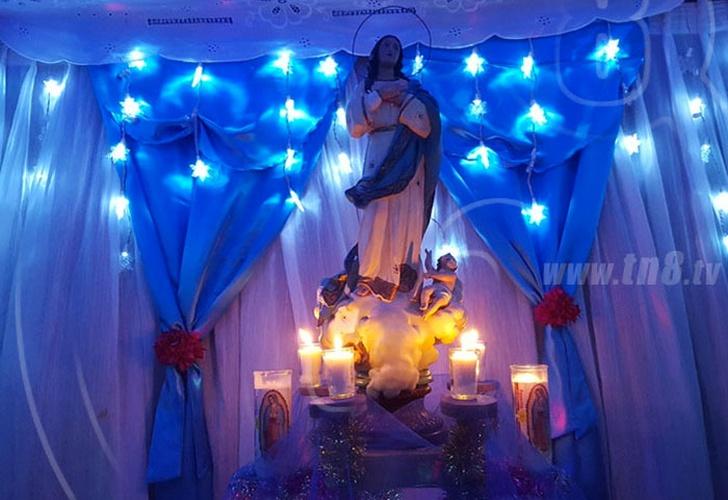 nicaragua, mensaje, vicepresidenta, rosario murillo, purisima, virgen maria,