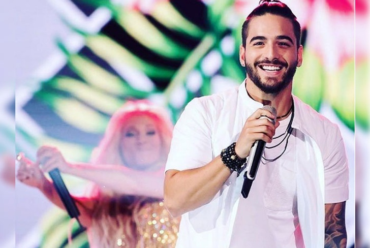 mexico, maluma, fan, beso, reaccion, redes sociales,