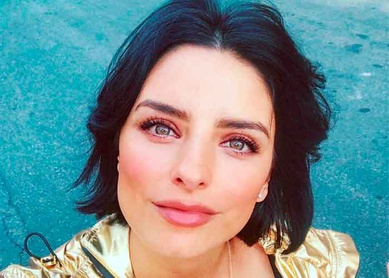Aislinn Derbez lanza podcast sobre inteligencia artificial en Spotify