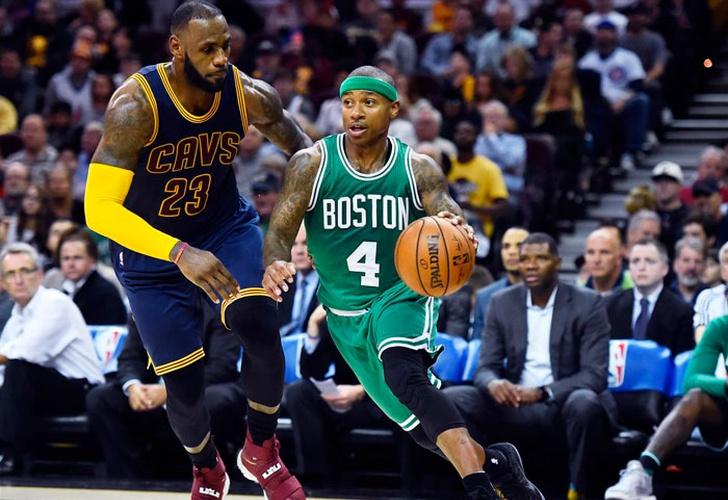 LeBron y Cavs arrasan otra vez en Boston
