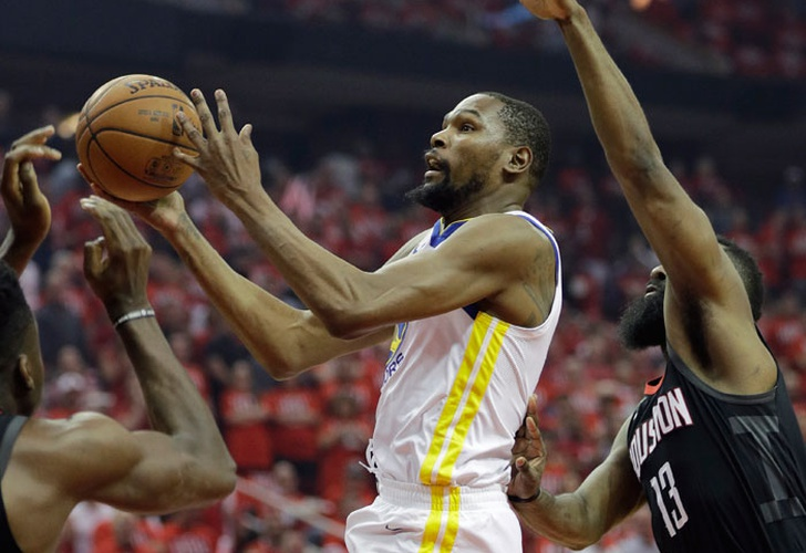 kevin, durant, klaty, thompson, warriors, golden, state, rockets, houston, conferencia, oeste,