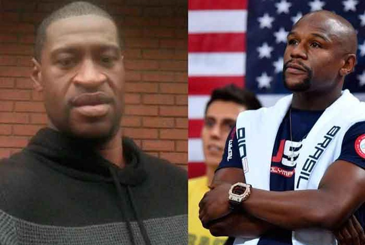 estados unidios, floyd mayweather, funeral, george floyd, asesinato, video, viral, racismo,