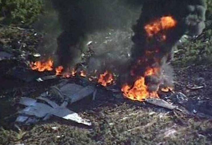 Un avión militar se estrelló en Mississippi: 16 muertos