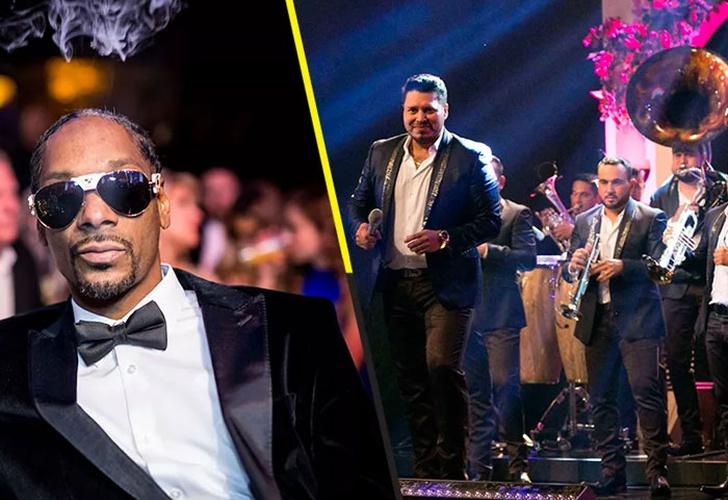 Snoop Dogg y la Banda MS harían extraña colaboración
