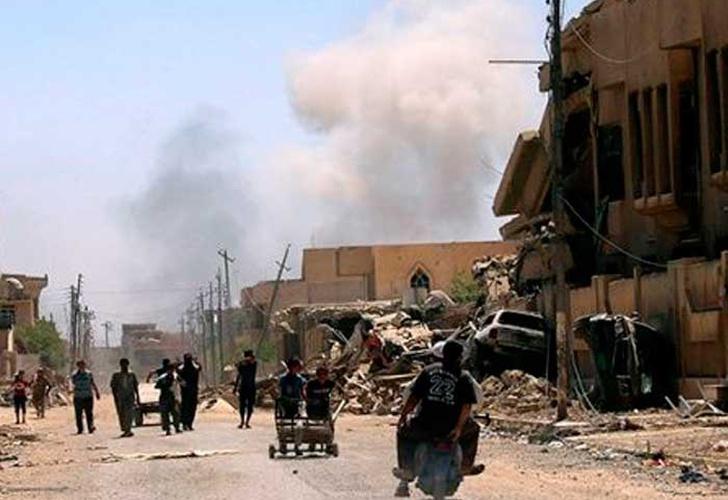 Yihadistas matan a 258 civiles en Mosul ante avance de fuerzas iraquíes
