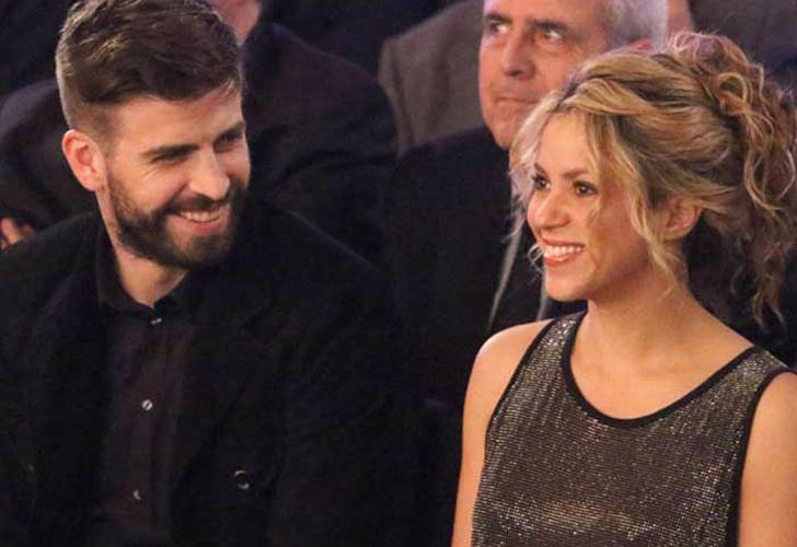 Shakira y Piqué decoran con sus hijos huevos de Pascuas
