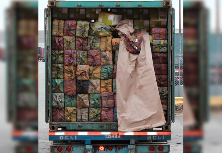 Como en tiempos Pablo Escobar: incautan 1,450 kilos de droga en EUA