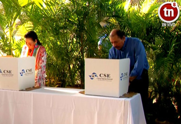Elecciones municipales de Nicaragua transcurren sin incidentes