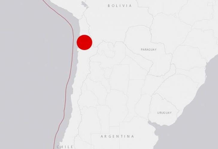 Un sismo de 5 grados sacudió el norte de Chile