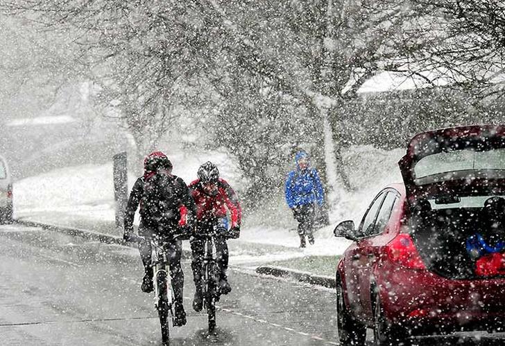 Temporal de nieve azota parte de Europa