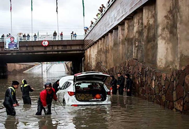 Fallecen 41 personas por inundaciones en Irán