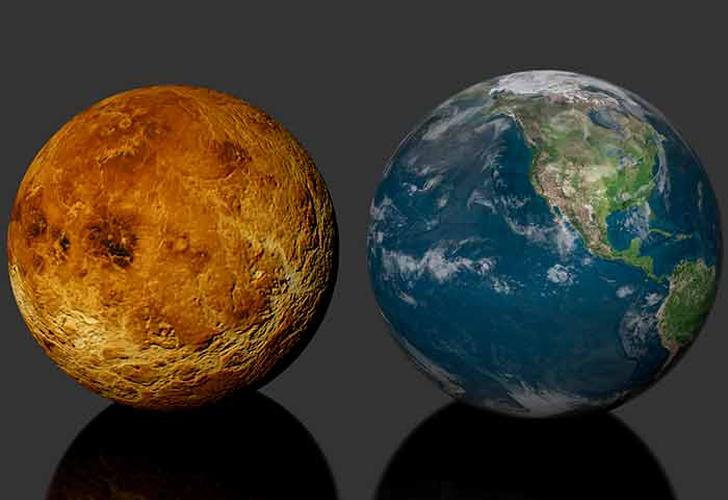 Podría la Tierra sufrir transformaciones igual que Venus