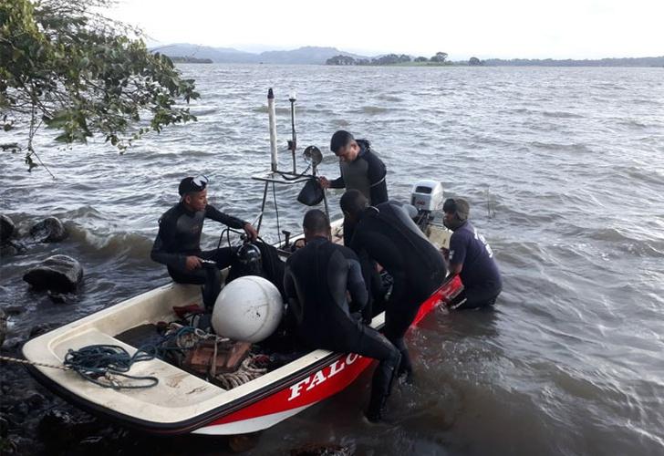 Encuentran cuerpos de personas desaparecidas en lago Apanás