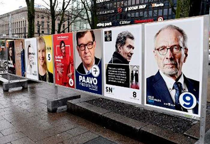 Reeligen a Sauli Niinisto como presidente de Finlandia