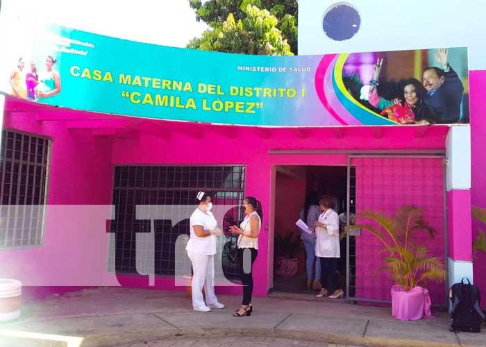 nicaragua, managua, casa materna, camila lopez, salud, embarazadas,