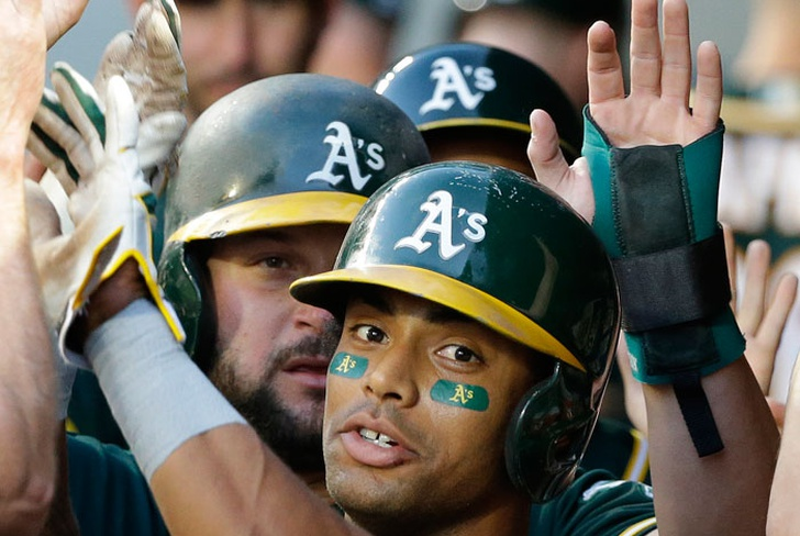 khris, davis, atleticos, oakland, marineros, seattle, robinson, cano, paul, blackburn,-Davis, Blackburn dan a Atléticos triunfo 7-4 ante Marineros