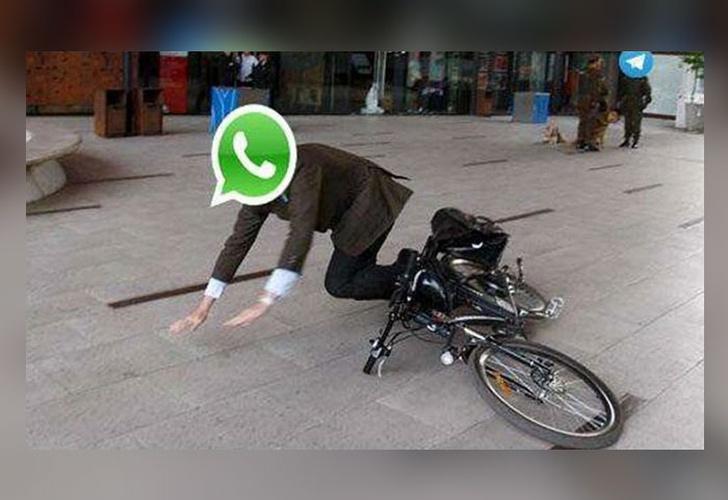 WhatsApp sufrió una caída a nivel mundial este viernes