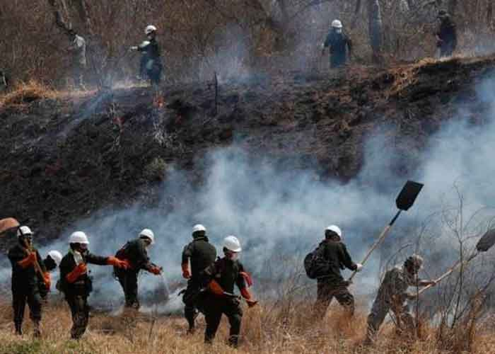 bolivia, estado de emergencia, incendios forestales, sequias, medio ambiente,