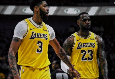 Davis anota 26, Lakers ganan a Heat e hilan 7mo triunfo
