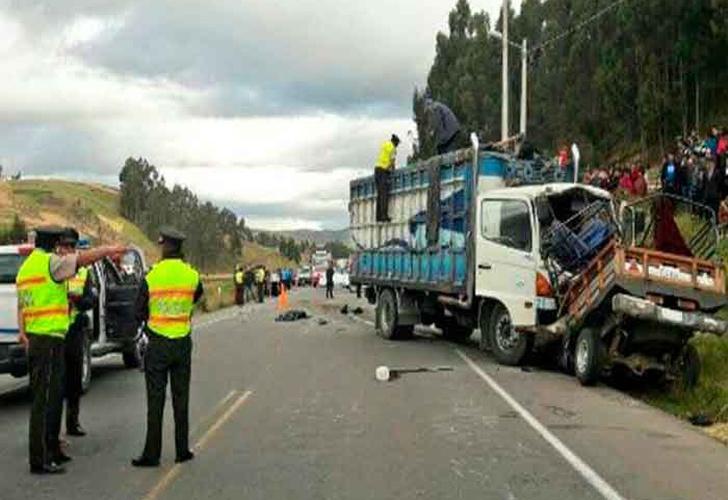 18 muertos tras dos accidentes de tránsito en Chimborazo