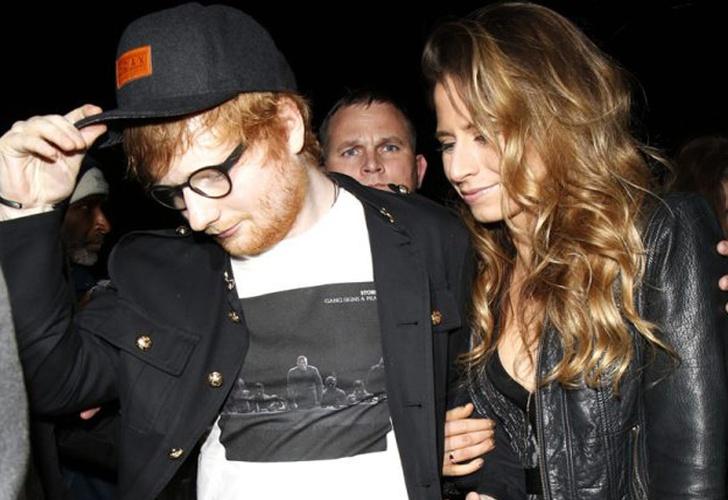 ¡Se comprometió! Ed Sheeran sorprendió a sus seguidores con esta noticia