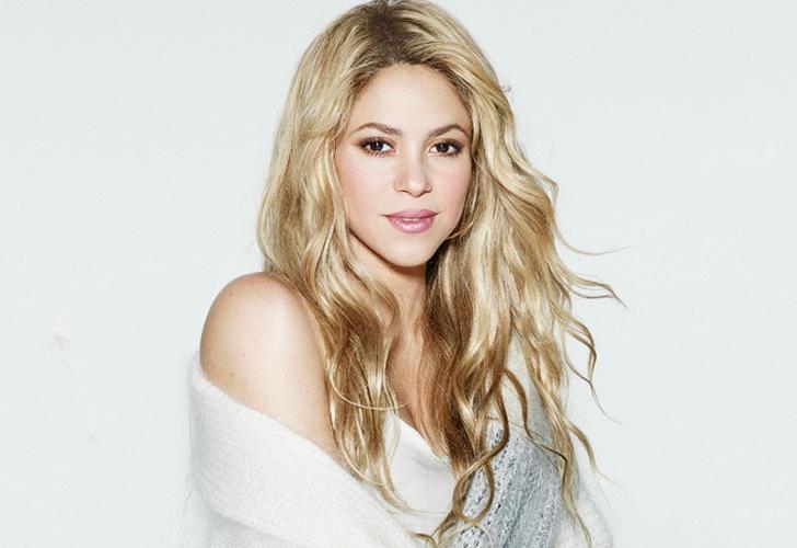 Así luce el rostro de Shakira sin una gota de maquillaje