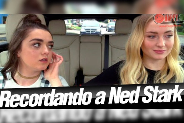 Sophie Turner y Maisie Williams imitan a Ned Stark en nuevo video de Carpool Karaoke