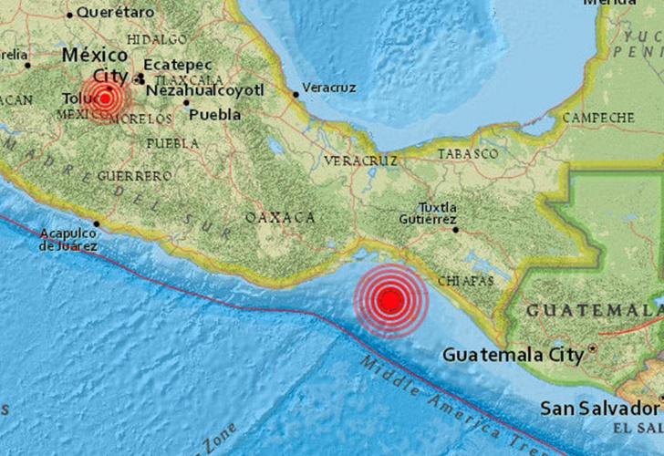 Se registra sismo de 2,6 al sur de la CDMX