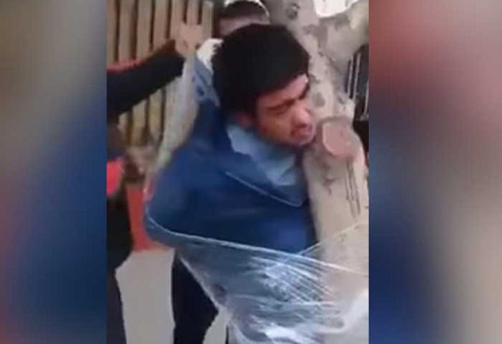 Un nene chileno recibió como regalo de Navidad tres días de libertad para su padre