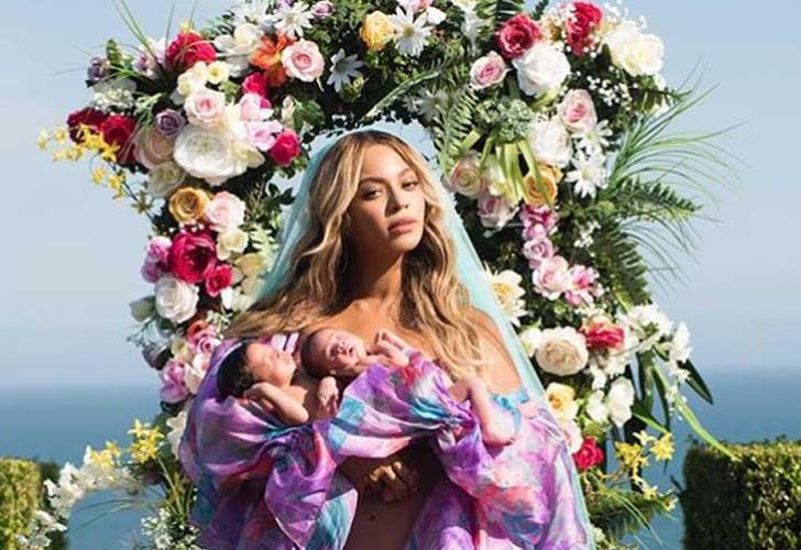 Beyoncé presenta de manera oficial a sus mellizos Rumi y Sir Carter