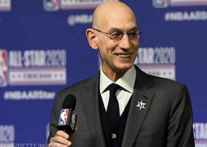 nba, adam silver, usa, coronavirus, suspension,