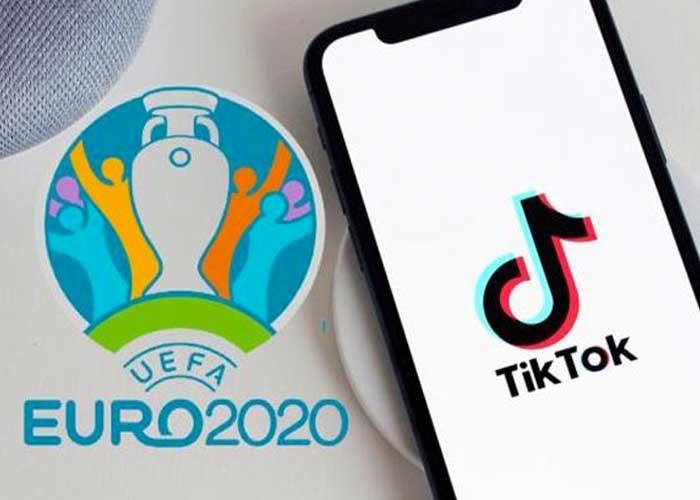 TIKTOK OFFICIELLEMENT ANNONCÉ COMME SPONSOR MONDIAL DE L'EURO 2020 - Foot 2020