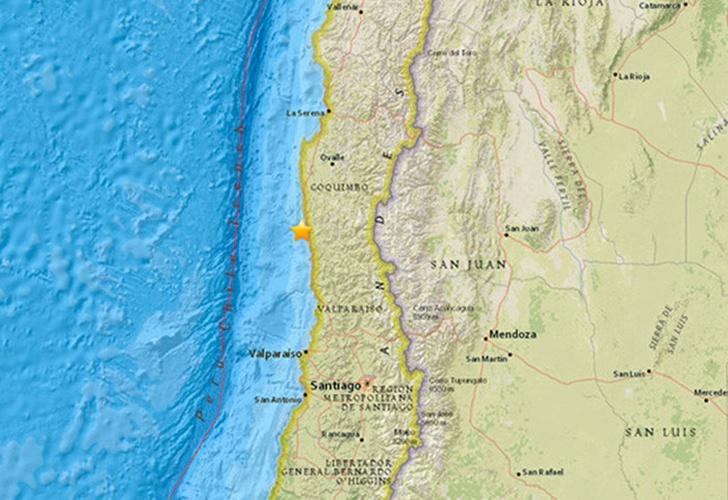 Sismo de mediana intensidad se registró en la Región de Coquimbo