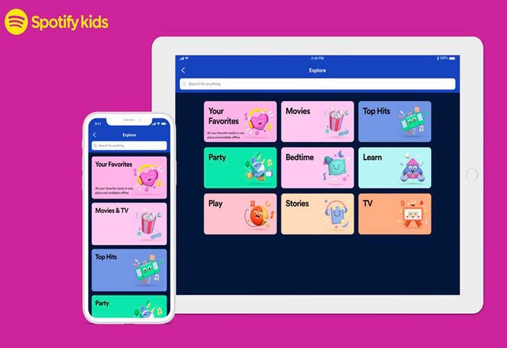 Portaltic.-Spotify presenta la aplicación independiente para niños Spotify Kids