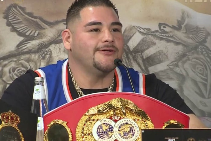 andy ruiz, anthony joshua, campeon, arabia saudita, boxeo,