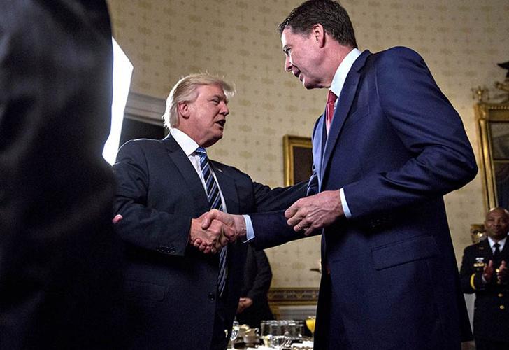 Trump revela que lo investigan por haber despedido al director del FBI